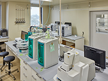 Waste Sample Instrumental Analysis Room(Photo)