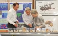 Visit of the Japanese Emperor and Empress to NIES (Aug 2010)