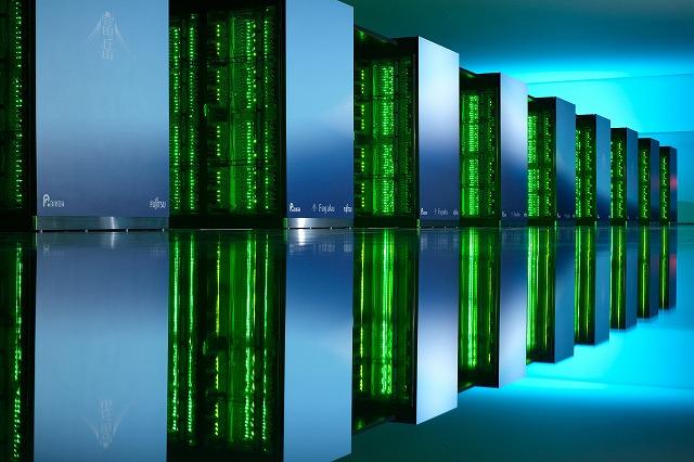 スーパーコンピュータ「富岳」の画像